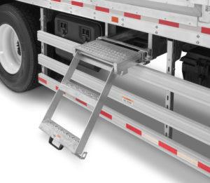 Takler Usa's ladder-Morgan's truck body